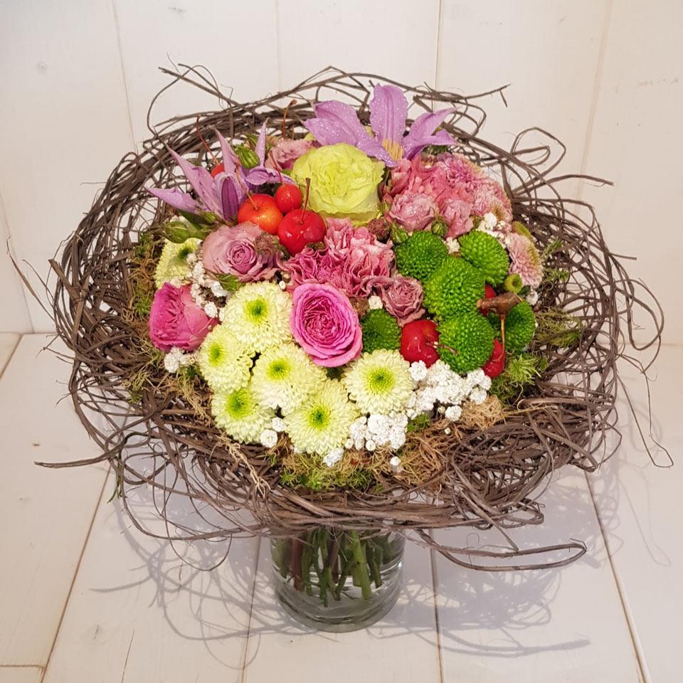 Bouquet cm 25 - Tipo 1 - faieta fiori