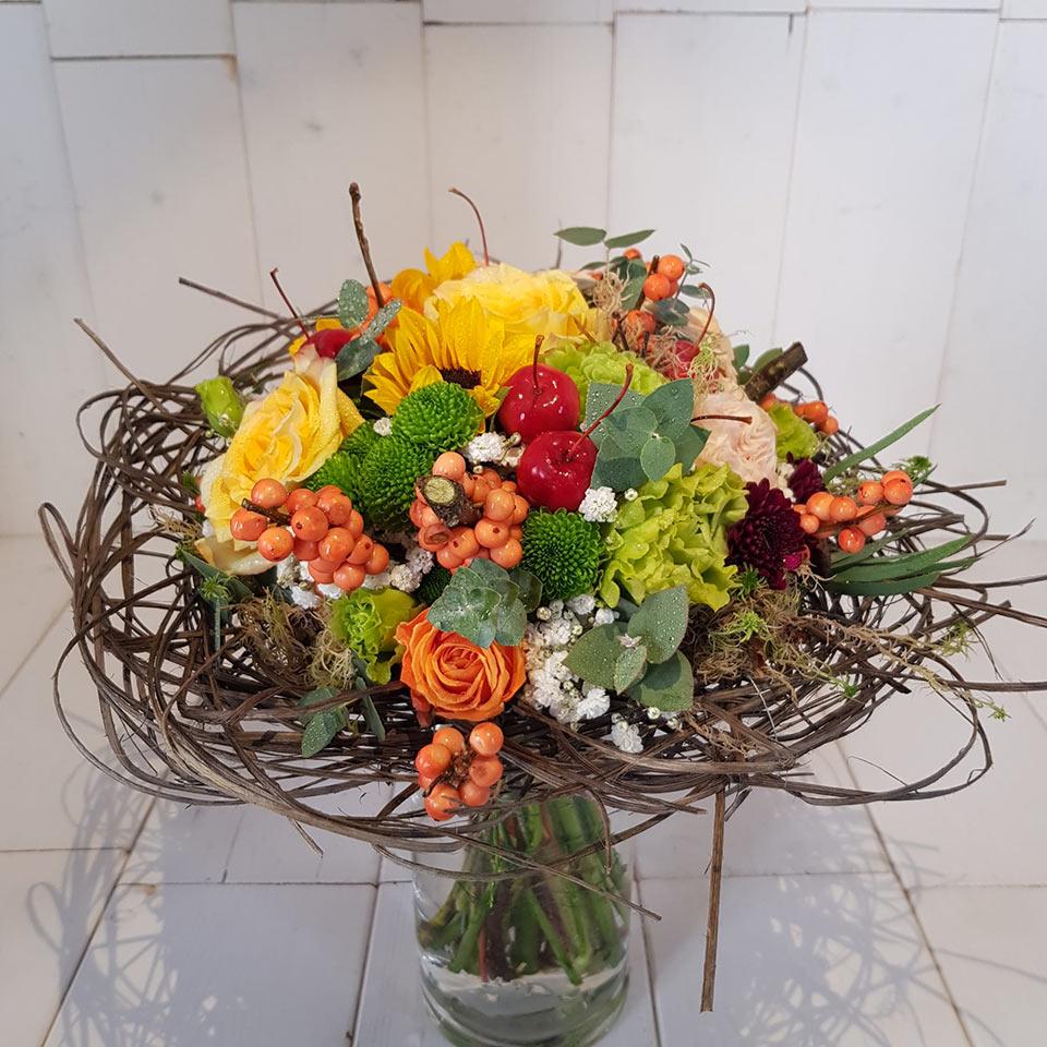 Bouquet cm 25 - Tipo 2 - faieta fiori