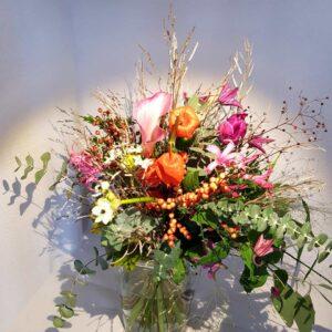 Mazzo legato grande - Tipo 1 - faieta fiori