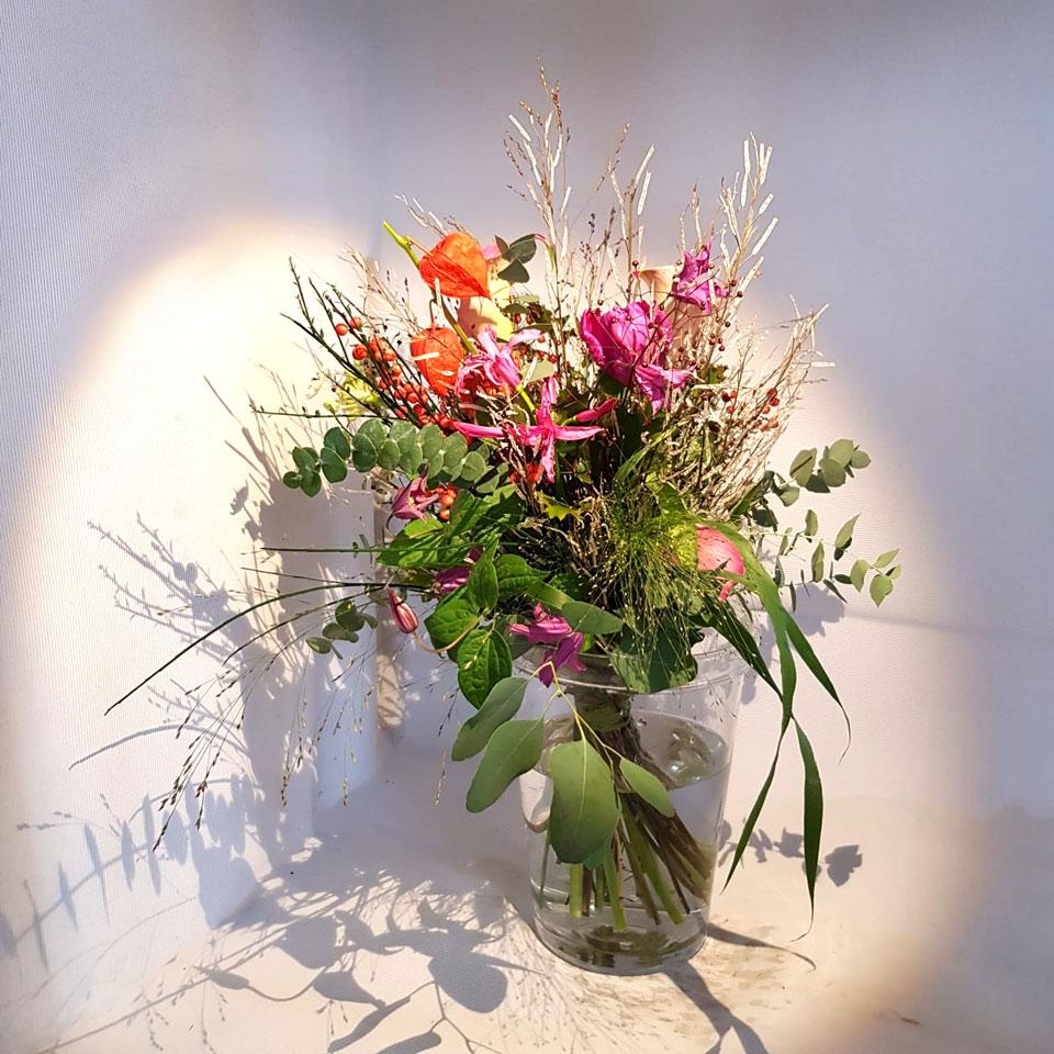 Mazzo legato fascio - faieta fiori